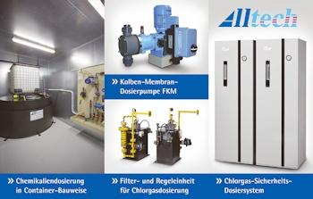 Alltech Dosieranlagen stellt die Polyelektrolyt-Aufbereitungs- und Dosieranlage Continufloc vor