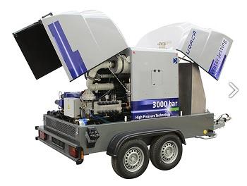 Uraca: JetPower 180 – Hochdruckpumpen-Aggregat