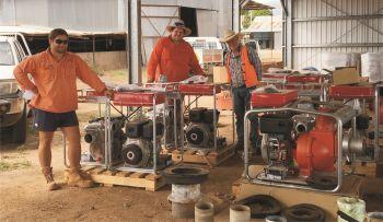 Aussie Pump's QP Transfer Pumps Pumped Plantation for Growth