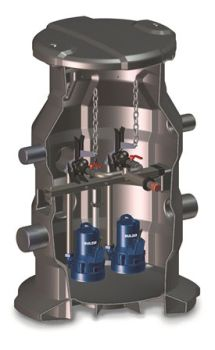 Sulzer Introduces the New Lifting Stations Type ABS Synconta 901B and 902B