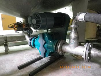 Netzsch Tornado T2 Pump Drastically Improves Abrasive Material Pumping Application at Knauf Plant in Iphofen, Germany