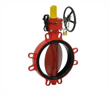 Butterfly Valve for Fire Protection Applications by KSB