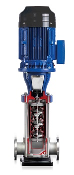 New Efficient High-Pressure Pump for a Powerful Performance