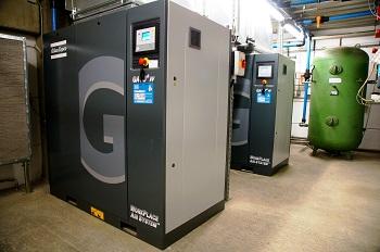 Druckerei spart Energie mit neuer Druckluftstation und nachgerüsteter Wärmerückgewinnung