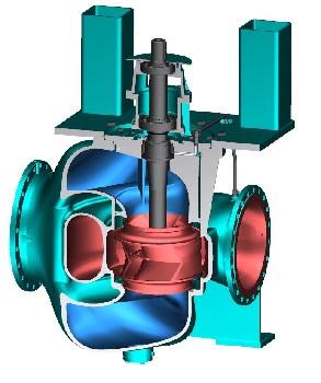Colfax präsentiert große Seewasser-Pumpe und Turn-Key-Regelsystem