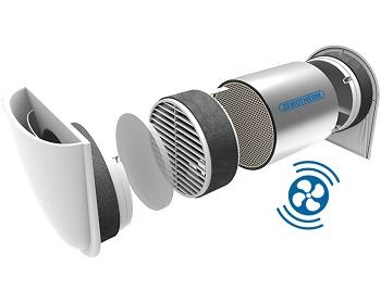 Dezentrales Lüftungsgerät ZEWO SmartFan von Zewotherm bereits jetzt für die Zukunft gerüstet