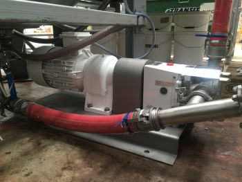 Hygienic Lobe Pumps Supplied by Michael Smith Engineers Help to Smooth the Sun Cream Process