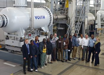 Voith Trains the Staff of its Customer, Liberia Electricity Corporation