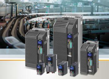 Umrichterreihe Sinamics G120C mit neuen Baugrößen für mehr Leistung