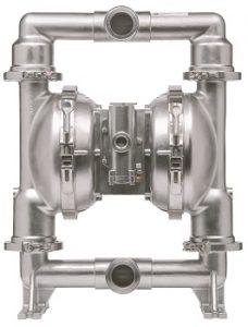 Neue druckluftbetriebene ARO Hygiene- und Lebensmittelpumpen der SD-Serie