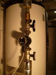 Wärme nach Plan mit Pumpen von Xylem