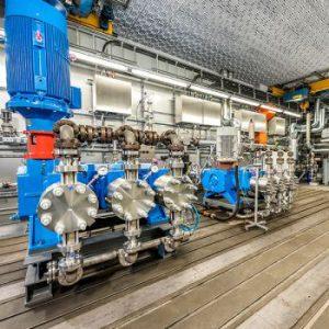 Lewa Starts Testing Room for Process Pumps
