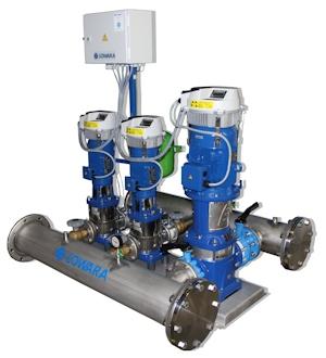 Fachbericht: Mit drehzahlgeregeltem Pumpsystem zu effizienter Wasserversorgung