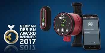 Alpha3 von Grundfos gewinnt German Design Award 2017