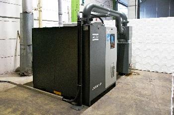 Poresta Systems bringt Wannenträger mit drehzahlgeregelter Vakuumpumpe von Atlas Copco in Form