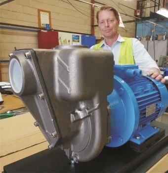 New Corrosive Liquid Mine Pump by Aussie Pumps