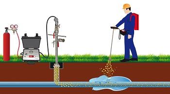 Esders TracerJect: Wasserleckagen im laufenden Betrieb präzise mit Tracergas orten