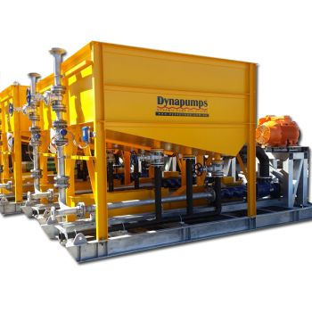 Dynapumps Supplied and Manufactured Dewatering Pump Packages for the Edna May Project