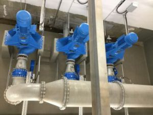 Leckagefreier Automatikbetrieb in Lineg Pumpwerk Leyenburg