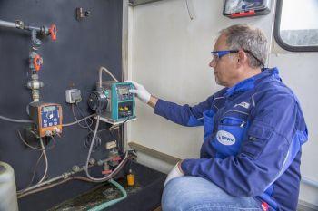 Qdos Pump Replaces Three Diaphragm Pumps at Major Water Treatment Plant