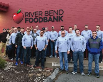Inpro/Seal Participates in River Bend Foodbank's Backpack Program, Providing Meals for Kids