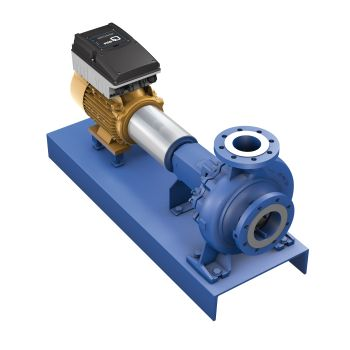 New KSB Drives Reduce Variant Complexity of Pumps