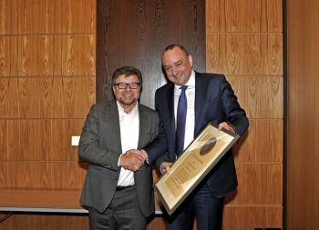 BTGA ehrt Josef Oswald mit Rietschel-Diplom