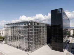 Climaveneta Units for the new Roma Convention Center La Nuvola Air Conditioning