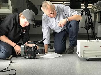 COPT Zentrum bietet die Kulisse für Dreharbeiten für Leybold's Vakuumtechnologie