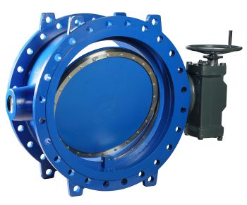 Butterfly Valve by KSB for Long-Distance Water Transport