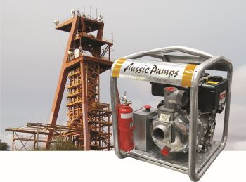 Australian Pump Industries Announce Launch of Fire Pump for the Mining Industry