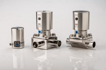 New Pneumatic Actuator for Diaphragm Valves Used in Sterile Applications