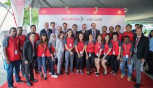 Opening of Pfeiffer Vacuum's First Service Center in Malaysia