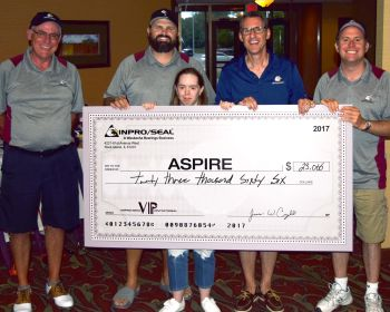 Inpro/Seal Raises Record Donation for Local Charity