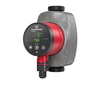 Die neue Grundfos Alpha2 kann jetzt auch den hydraulischen Abgleich