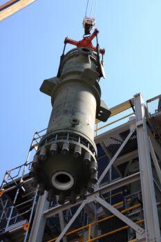 SGL Group führt erfolgreich großtechnisches Verfahren für das Recycling von Chlorwasserstoff ein