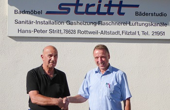 Sülzle Kopf Gebäudetechnik übernimmt Heizungs- und Sanitärsysteme Stritt in Rottweil