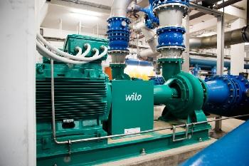 Grüne Pumpen für Trinkwasserversorgung in Basel