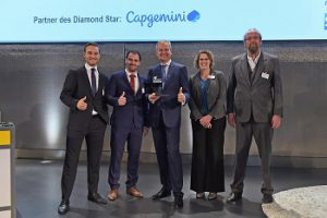 """Boge Wins the Diamond Star for the """"Best 4.0 Industrial Business Solution"""""""