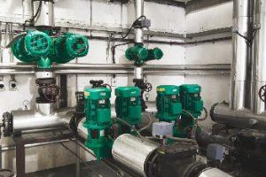 Wilo: Grüne Pumpen für ein grünes Stadion