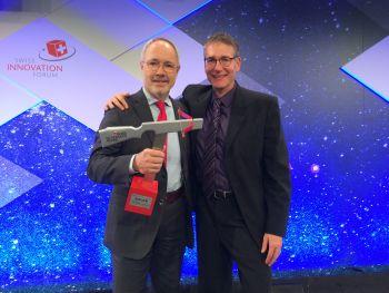 Endress+Hauser erhält den Swiss Technology Award für das Durchflussmessgerät Promass Q