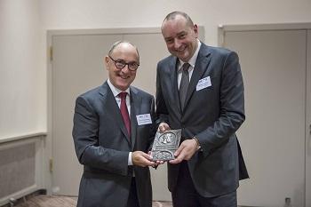 BTGA ehrte Professor Ulrich Pfeiffenberger mit Hermann-Rietschel-Plakette