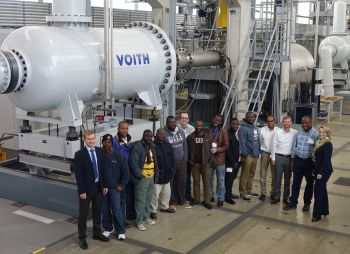 Capacity Building in Africa: Voith Provides Knowledge in Hydropower Technology to Local People