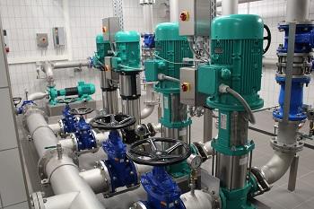 Das Wasserwerk Starzhausen setzt bei der Pumpentechnik auf die Kompetenz des WILO EMU Anlagenbaus
