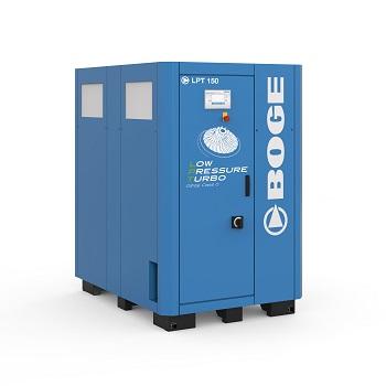 Boge Low Pressure Turbo 150 – Maximale Energieeffizienz bei niedrigem Betriebsdruck