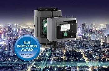 """Wilo-Stratos MAXO mit """"Blue Innovation Award"""" ausgezeichnet."""