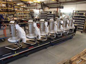 Kompakte Edelstahltauchmotorpumpe von Landia fördert stark ätzende Flüssigkeiten mit hohem Feststoffanteil