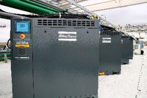 Atlas-Copco-Kompressoren als zuverlässige Komponenten von Tunnelbohrmaschinen