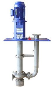 New KSB Suspended Pumps with the Hydraulic System of Standardised Chemical Pumps