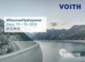 Voith Starts Discover Hydropower Tour with Energy Experts